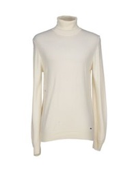 Guess By Marciano Turtlenecks Ivory