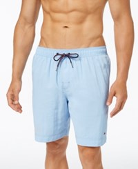 Tommy Hilfiger Men's Big And Tall Swim Trunks French Blue