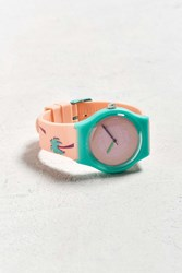 Urban Outfitters Uo Art Watch Volleyball Scene Light Mauve
