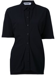 Jil Sander Short Sleeve Shirt Black