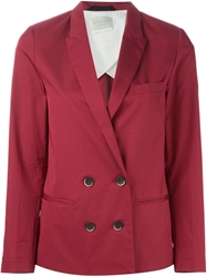 Forte Forte Double Breasted Blazer Red