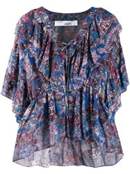 Iro Pasco Blouse Blue