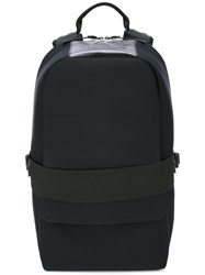 Y 3 Elasticated Strap Backpack Black