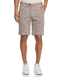 Psycho Bunny Mako Camouflage Regular Fit Shorts Gray