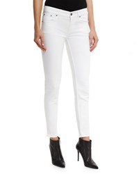 Ralph Lauren 400 Matchstick Ankle Jeans White