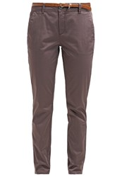 Comma Chinos Greige Taupe