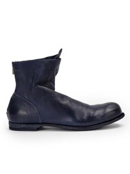 Officine Creative Double Boots Blue