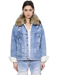 Forte Couture Le Bon Winter Murmansky And Denim Jacket