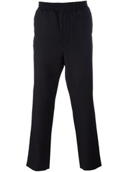 Ami Alexandre Mattiussi Straight Leg Trackpants Black