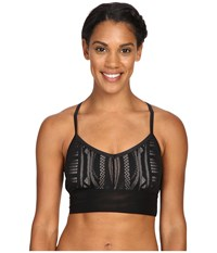 Alo Yoga Aria Bra Black Buff Women's Bra Beige