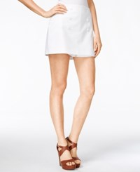 Maison Jules Mini Sailor Skort Only At Macy's Bright White