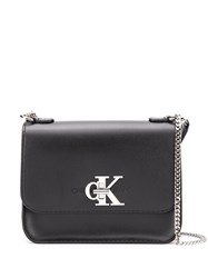 Calvin Klein Logo Chain Shoulder Bag 60