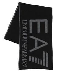 Emporio Armani Train Visibility Scarf Black
