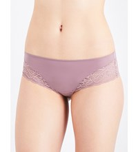 Triumph Amourette Spotlight Stretch Lace Hipster Briefs Brown Light Combo