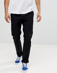 Volcom Frickin Chinos In Straight Fit In Black