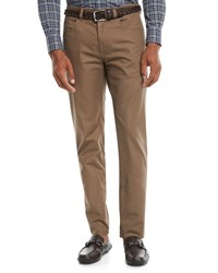 Peter Millar 5 Pocket Soft Touch Twill Pants Brown