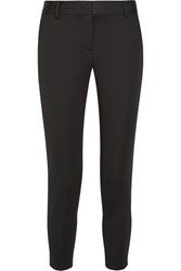 Dkny Stretch Twill Tapered Pants Black