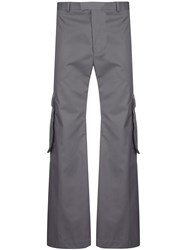 Martine Rose Wide Leg Cargo Trousers 60