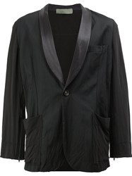 Di Liborio Casual Single Breasted Blazer Black