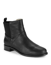 Matt Bernson Harper Leather Booties Black