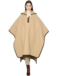 Chloe Oversized Wool And Cashmere Cape