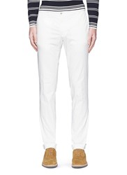 Lardini Stretch Twill Chinos White