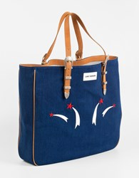 Umit Benan Tejanos Shopper Blue