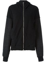 Lost And Found Rooms Zipped Hoodie Black