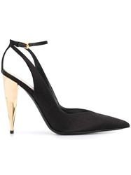 Tom Ford Hill Satin Pumps Black