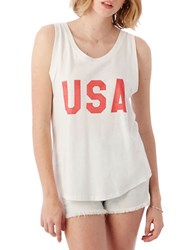 Alternative Apparel Tank Top With Low Arm Holes Grey