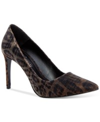Donald J Pliner Donald Pliner Phillo Pumps Women's Shoes Bronze Cheetah