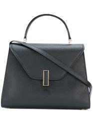 Valextra Iside Tote Women Leather One Size Black