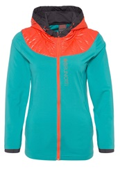Brunotti Yscott Soft Shell Jacket Teal Turquoise