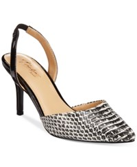Thalia Sodi Lola Pointed Toe Slingback Pumps Only At Macy's Women's Shoes Black