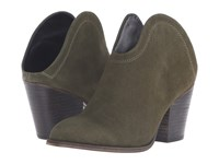 Chinese Laundry Kelso Olive Split Suede Women's Shoes Green
