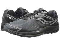 Saucony Ride 9 Black Silver Men's Running Shoes