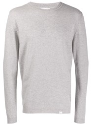 Norse Projects Long Sleeve Fitted Sweater Grey