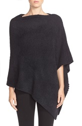 Barefoot Dreams Boatneck Cozychic Poncho Midnight