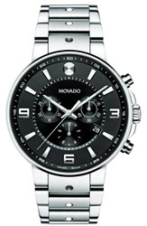 Movado Men's 'S.E. Pilot' Chronograph Bracelet Watch 42Mm