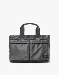 Porter Yoshida And Co. Tanker Tote Bag In Silver Grey