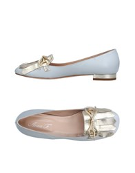 Anna F. Loafers Light Grey