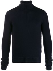 Haikure Knitted Roll Neck Jumper 60