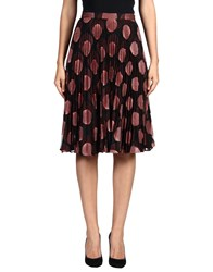 Marco De Vincenzo Knee Length Skirts
