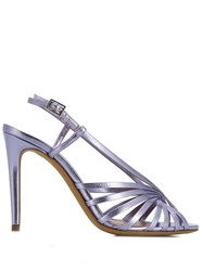 Tabitha Simmons Jazz High Heel Sandals Purple
