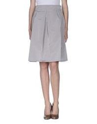 Diana Gallesi Knee Length Skirts Lilac