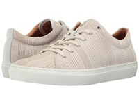 Aquatalia By Marvin K Andre White Textured Dress Calf Men's Lace Up Casual Shoes Beige
