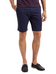 Lyle And Scott Cotton Shorts Navy