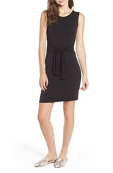 Amour Vert Tie Waist Body Con Dress Black