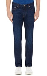 Officine Generale Men's Five Pocket Jeans Blue