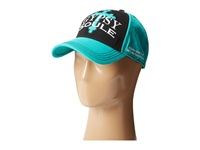 Gypsy Soule Gyp 216 Turquoise Black Caps Blue